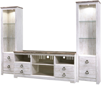 Cresthill 3 Piece Wall Unit