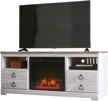 Cresthill TV Stand with Fireplace