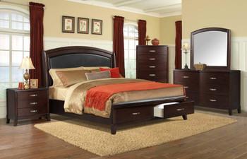 Adriano Bench Storage Bed
