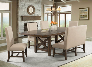 Abramo 6 Pc Dining Set