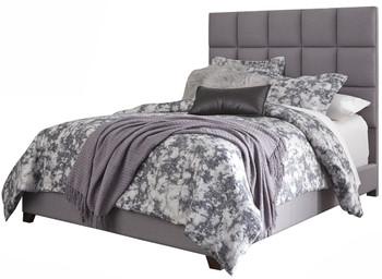 Dani Gray Fabric Bed