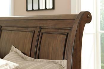 Belton Sleigh Bed
