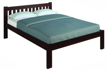 Ken Brown Platform Full Bed