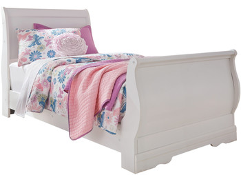 Paris White Youth Bedroom Set