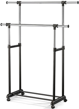 Shannon Black Clothes Rack