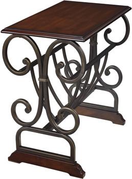 Alberta Metal Chairside Table