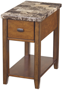 Alicea Marble Chairside Table