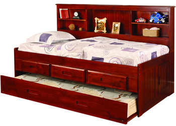Baycreek Merlot Storage Daybed with Trundle