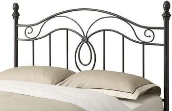 Chilton Black F/Q Headboard Bed