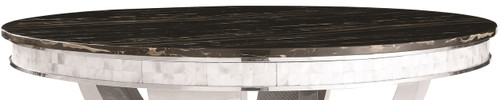 London Faux Marble 5PC Dining Set