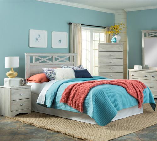 Xerces Gray Bedroom Set