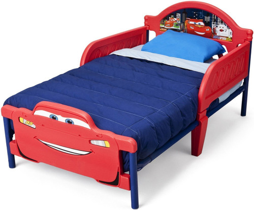 Cars 3D Toddler Bed