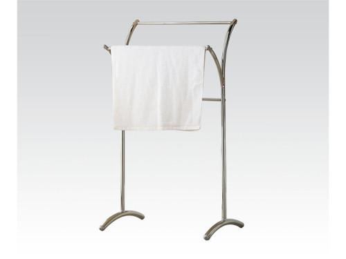Bevis Chrome Metal Towel Rack