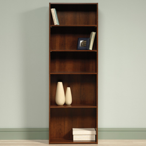 Origins Cherry 5 Shelf Bookcase