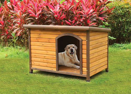Parker Premium Dog House- Light Oak