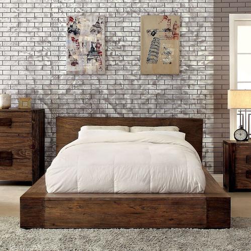 Woodworks Low Profile Platform Bed