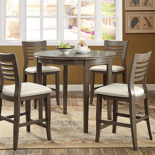 Cambridge Gray 5-PC Dining Set