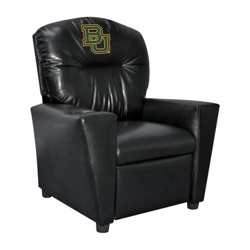 Baylor University Faux Leather Kids Recliner