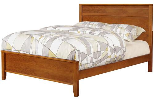 Aldo Oak Platform Bed