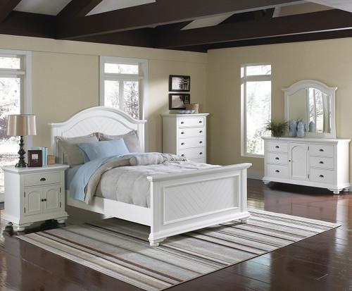 Celma White Bedroom Set