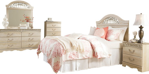 Katia Cream Bedroom Set