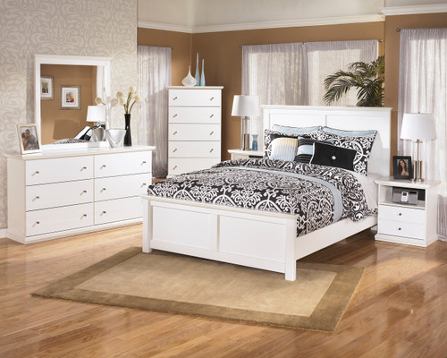 Lucia White Bedroom Set
