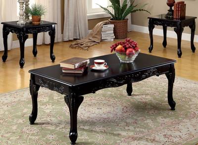 Arabella Black Pc Occasional Set CB Furniture - Arabella coffee table