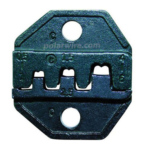 DIE OPEN BARREL 20-10GA PIN/SOCKET,DSUB,AMP,MOLEX