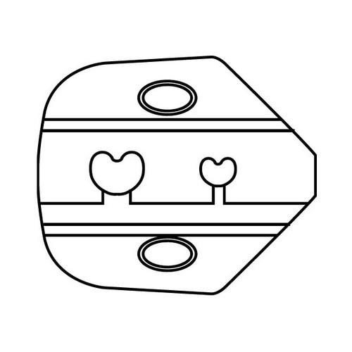DIE OPEN BARREL 30-18GA PIN/SOCKET,DSUB,AMP,MOLEX
