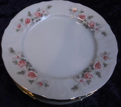 Quick Shop · Plate Dessert 7.5  Grey Roses Carlsbad porcelain Bone China Porcelain & Tableware - Czech porcelain - Plates - veralis.me