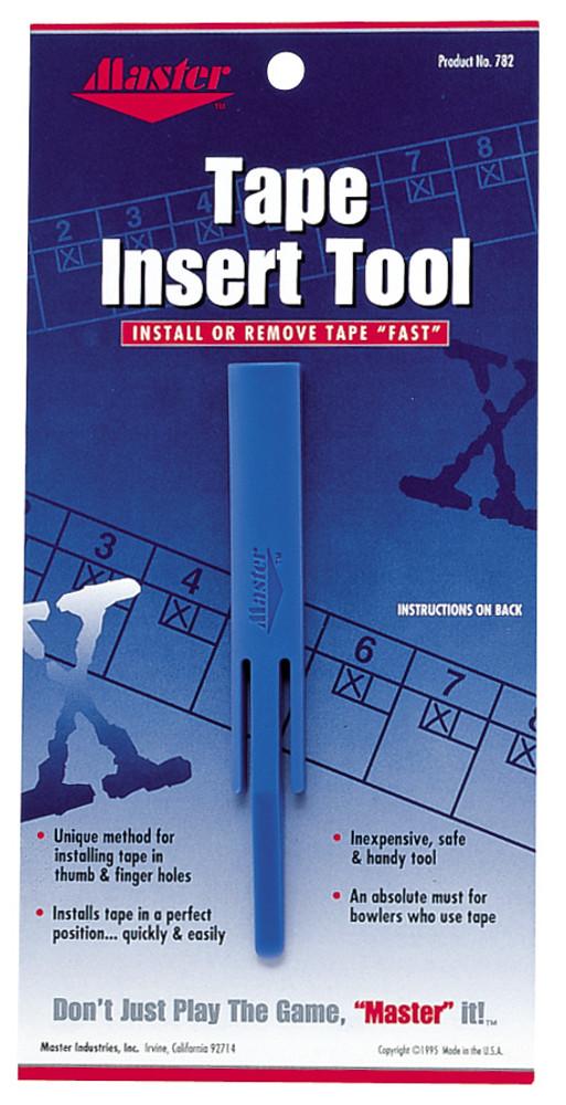 Master Tape Insert Tool