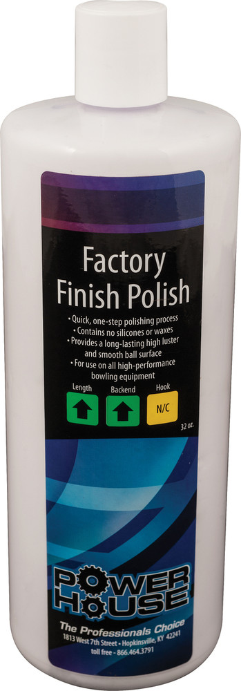 Powerhouse Factory Finish Polish 32oz