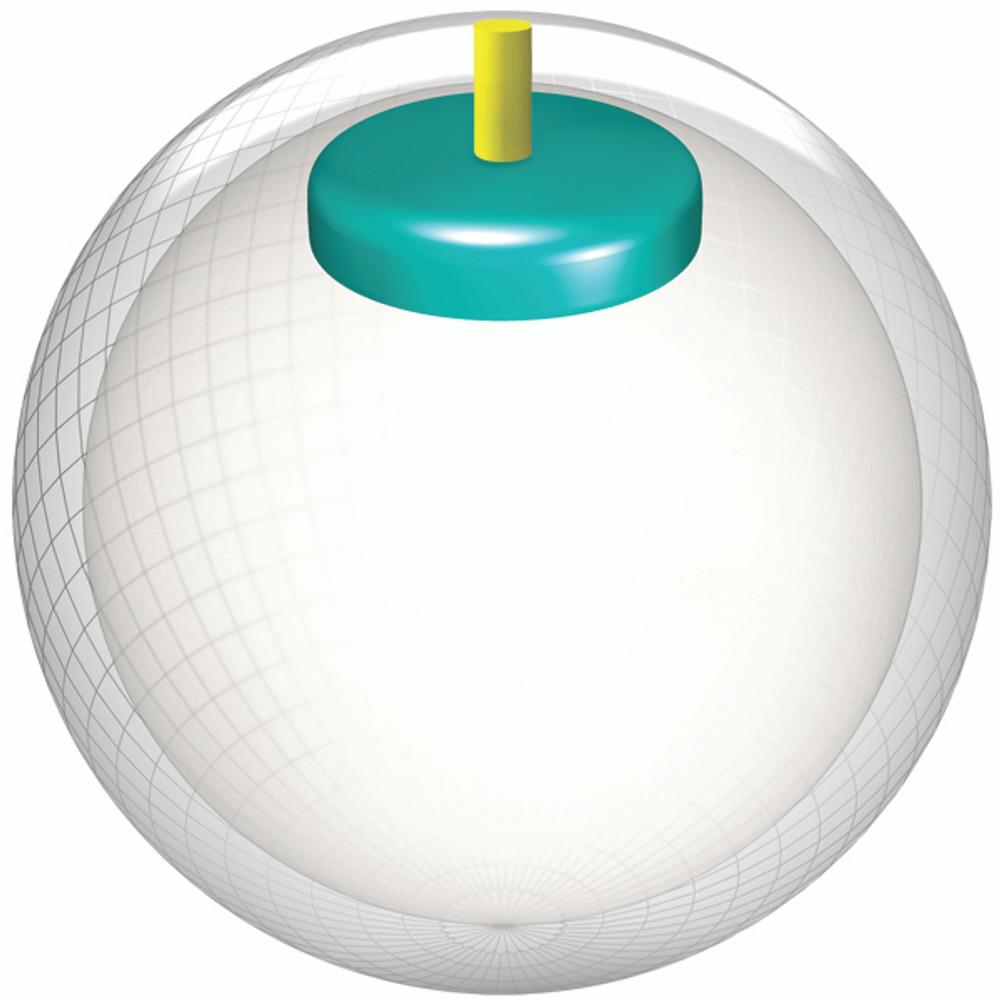 Storm Mix Pearl Bowling Ball Black White