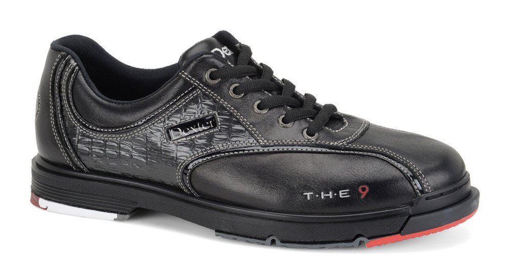 Dexter T H E 9 Mens Bowling Shoes Black Side View