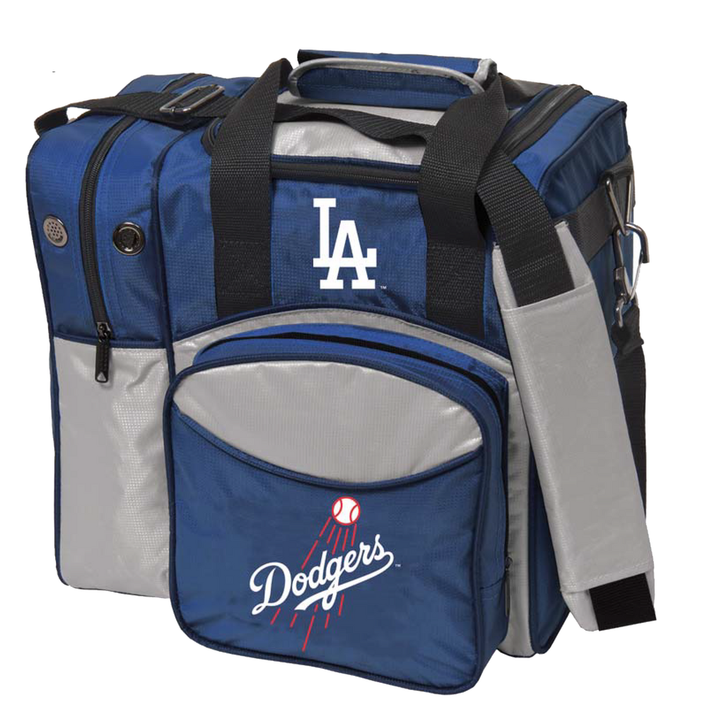 MLB 1 Ball Single Tote Bowling Bag LA Dodgers