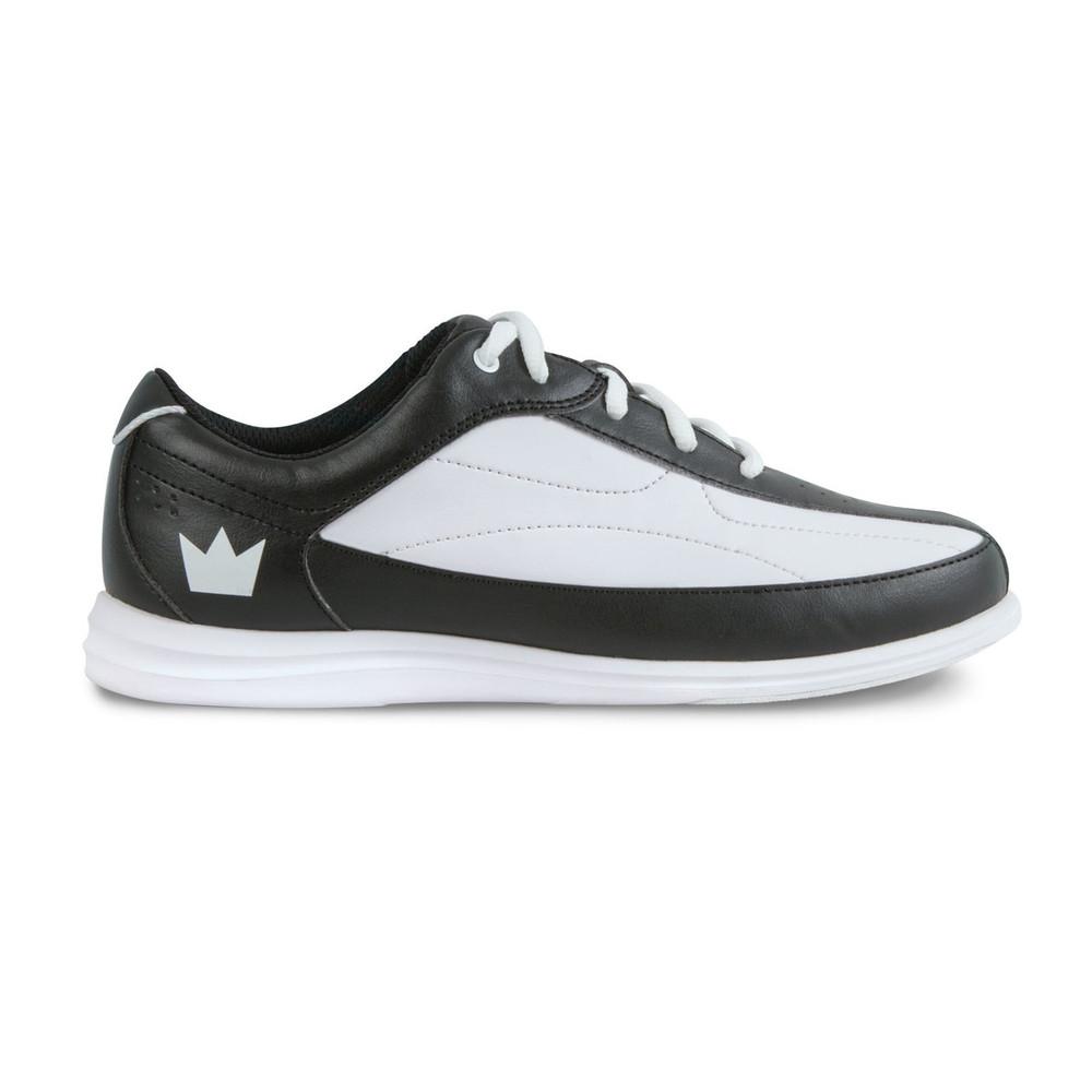 Brunswick Bliss Women's Bowling Shoes White Black Wide Width