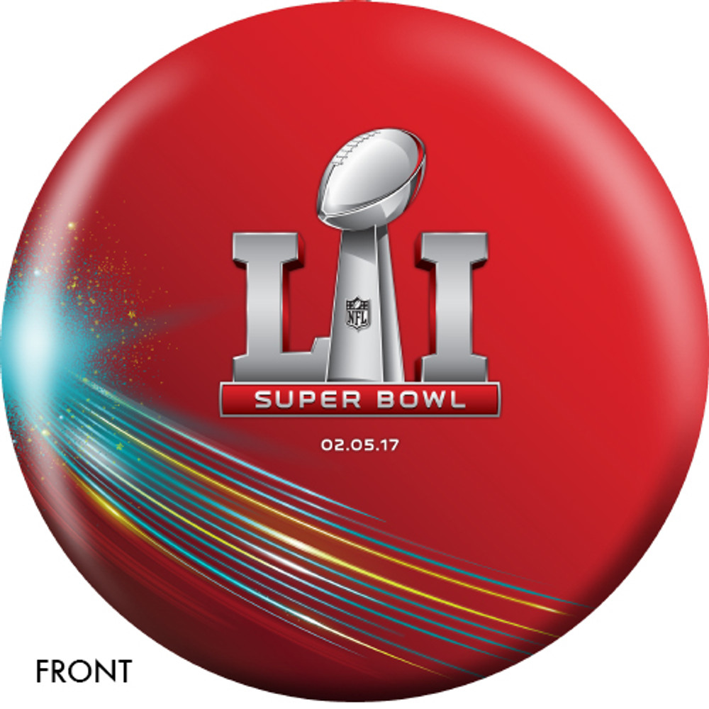 OTB NFL Bowling Ball Patriots 2017 Super Bowl LI