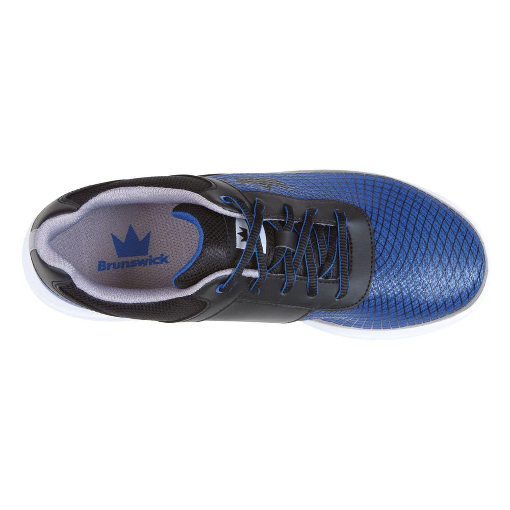 Brunswick Frenzy Men's Bowling Shoes Black Royal