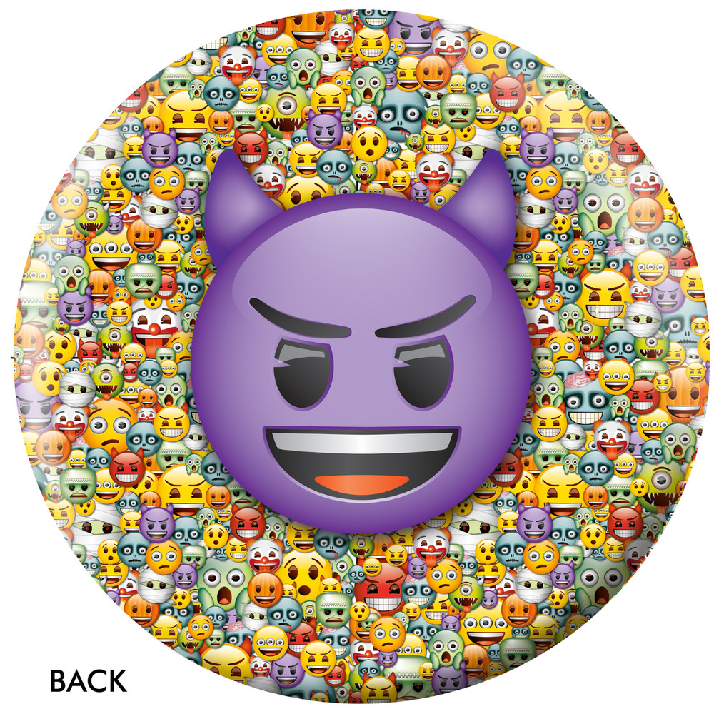 Emoji Steamed Devil Back View