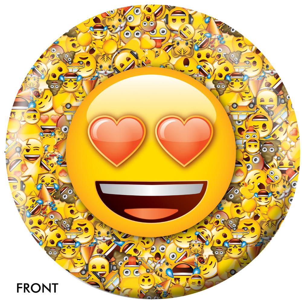 Emoji Who Loves Ya Front View