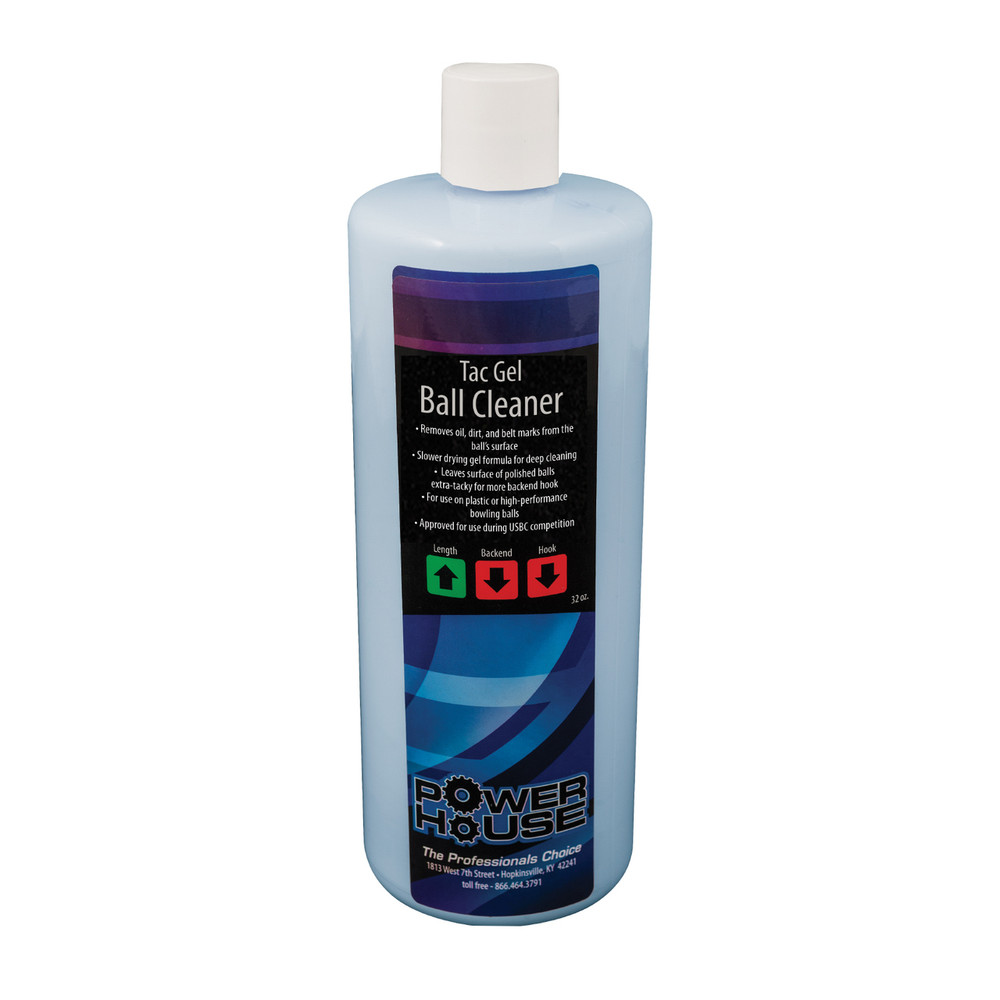 Powerhouse Tac Gel Bowling Ball Cleaner 32oz