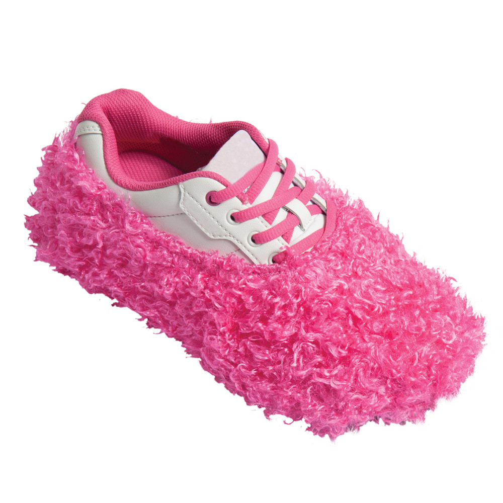 Robby's Fuzzy Shoe Cover Pink