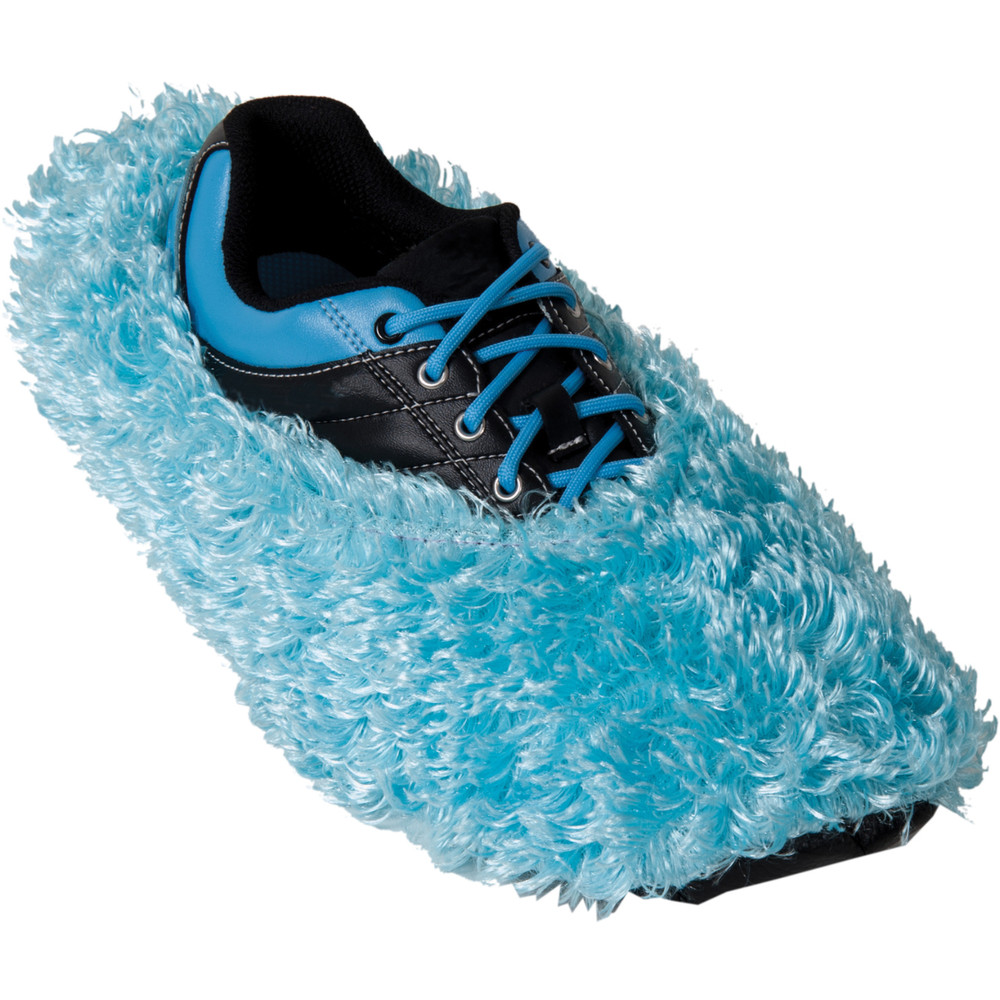 Robby's Fuzzy Shoe Cover Ice Blue