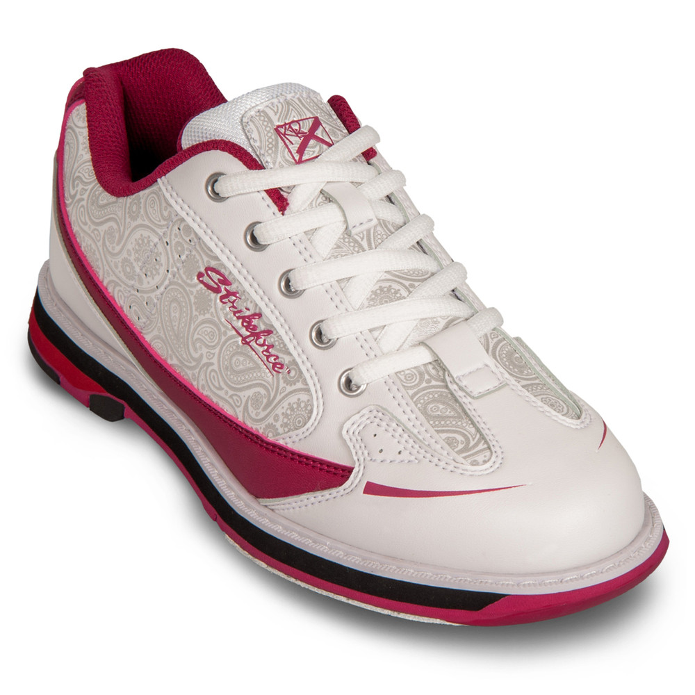 KR Strikeforce Curve Women's Bowling Shoes Scarlet Paisley
