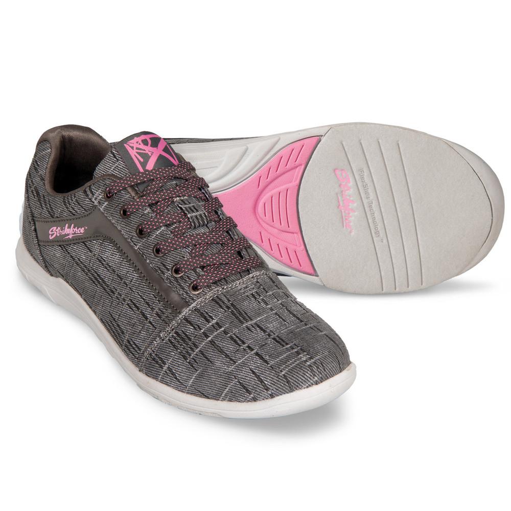 KR Strikeforce Nova Lite Women's Bowling Shoes Ash Hot Pink