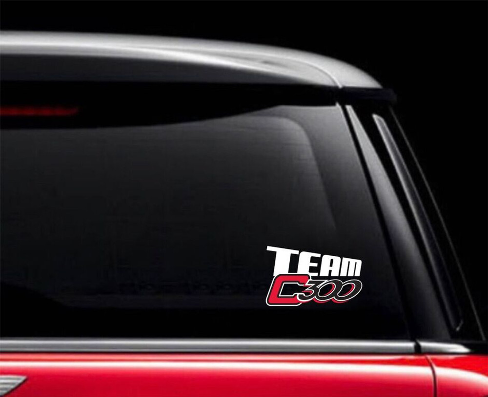 Columbia 300 Team Car Decal