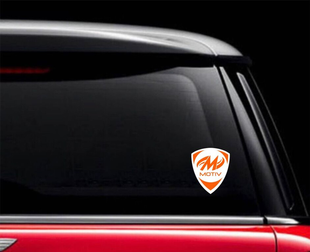 Motiv Crest Car Decal