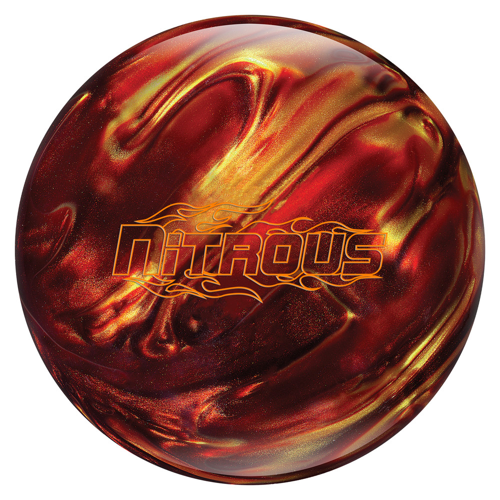 Columbia 300 Nitrous Bowling Ball Red Gold