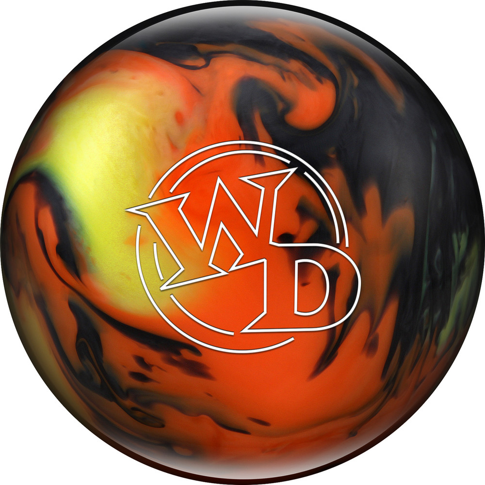 Columbia 300 White Dot Bowling Ball Lava