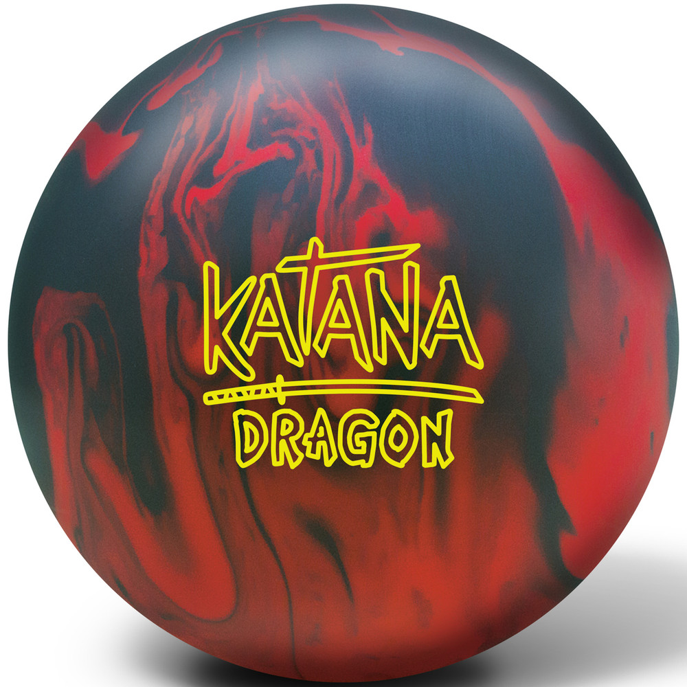 Radical Katana Dragon Bowling Ball